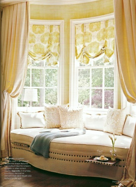Kitchen window treatments better homes and gardens home Better homes and gardens valances for small windows